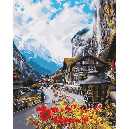 Пейзаж Швейцарии