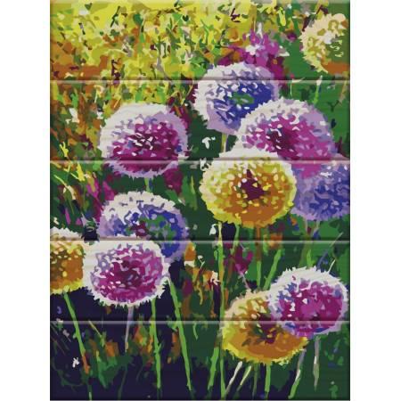 "Картина по номерам Картина по номерам на дереве ""Радужные одуванчики"" (ASW007), ArtStory"
