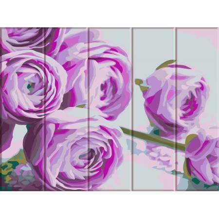"""Картина по номерам На дереве """"Сиреневые цветы"""" ASW044, ArtStory"""