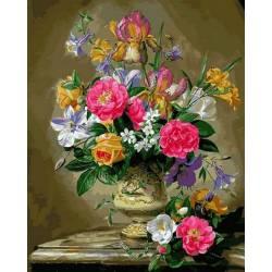 Розы цвета фламинго