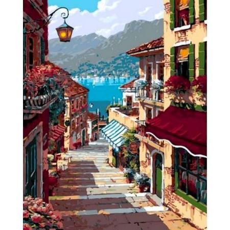 Картина по номерам «Дорога к морю», модель Q951