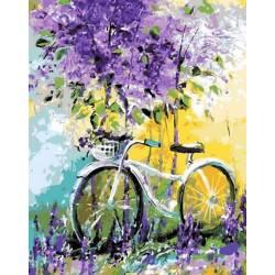 Велосипед в цвету лаванды