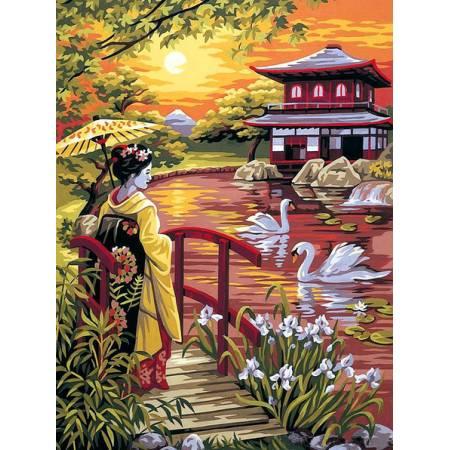Картина по номерам Волшебная Япония vk066, Babylon