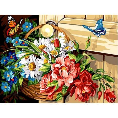 Картина по номерам «Летние краски», модель vk070