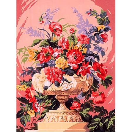 Картина по номерам «нежность в розовых тонах», модель vk076