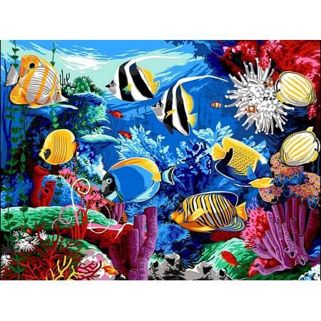 Картина по номерам Коралловый риф VK190, Babylon