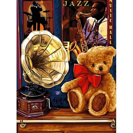 Картина по номерам Воспоминания о джазе VK191, Babylon