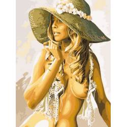 Девушка в соломенной шляпке