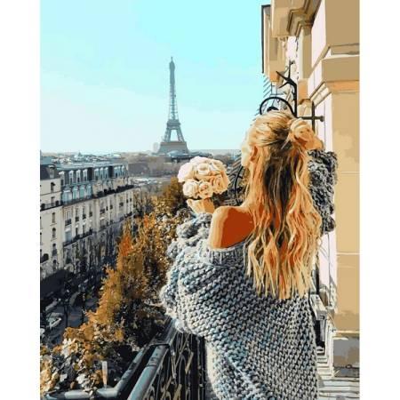Картина по номерам Балкон в Париже VP1097, Babylon