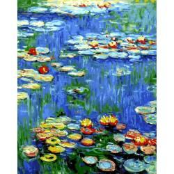 Водяные лилии Клод Моне