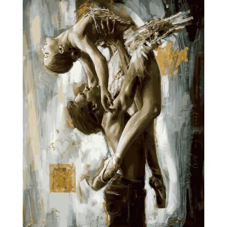 Картина по номерам Идеальный танец VP896, Babylon
