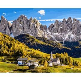 Заснеженные Альпы