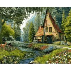Дом на опушке леса