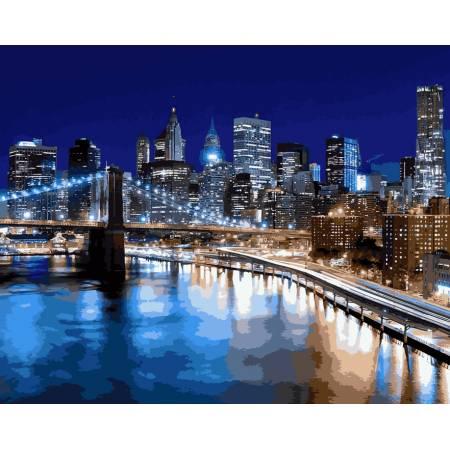 Картина по номерам Вечерний Нью-Йорк VP940, Babylon