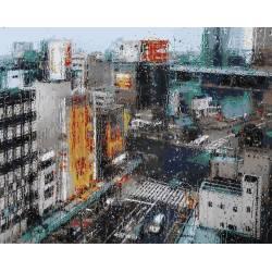 Дождь в мегаполисе