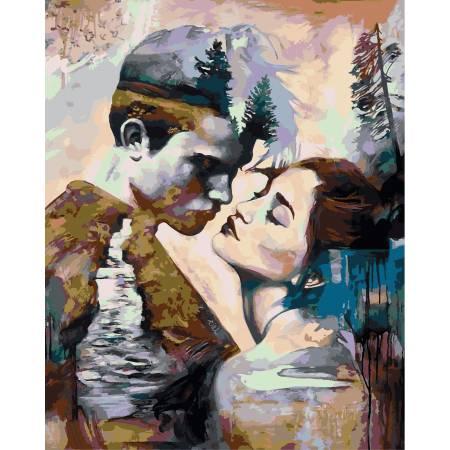 Картина по номерам Мир снов,, цветной холст NB981, Babylon Premium