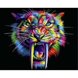 Радужный саблезубый тигр