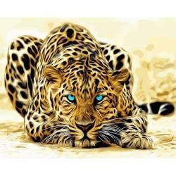 Красавец леопард