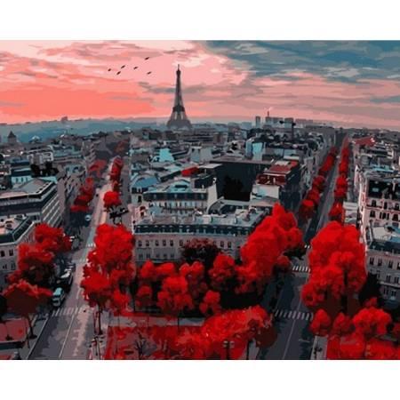 Картина по номерам Алые краски Парижа VPS833, Babylon