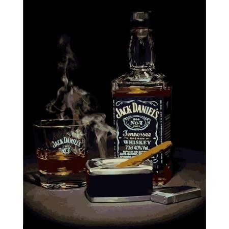 Картина по номерам Джек Дэниэлс vp1114, Babylon