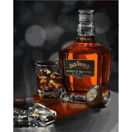 Картина по номерам Виски Джек Дэниэлс VP1116, Babylon
