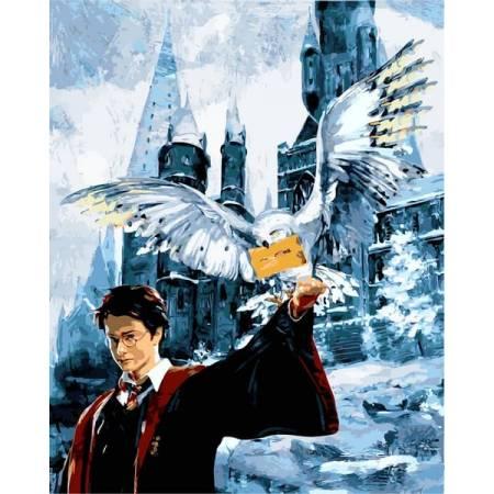 Картина по номерам Гарри Поттер Письмо из Хогвартса VP1118, Babylon