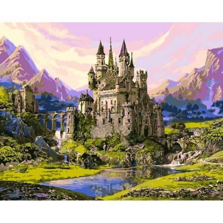 Картина по номерам Сказочный замок VP1123, Babylon