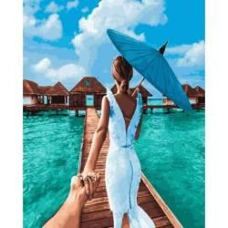 следуй за мной Мальдивы
