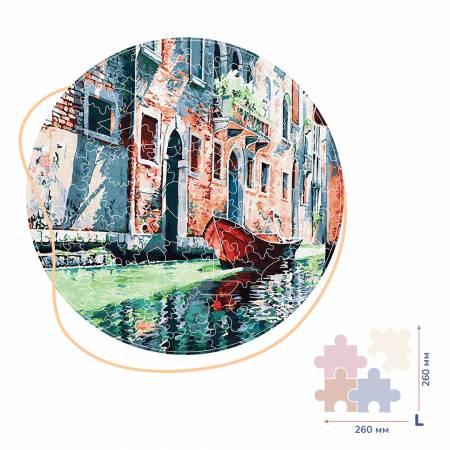 Гондола на канале Венеции (Размер L)