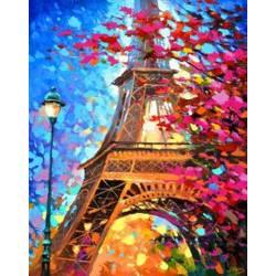 Париж в ярких красках