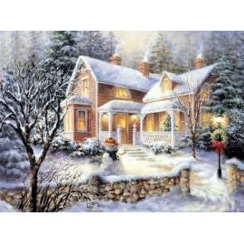 Зимний родной дом