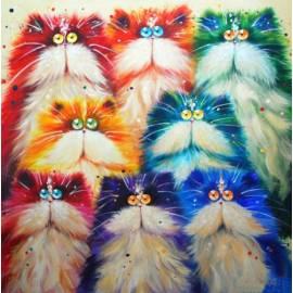 Радужные котята