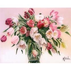 Весенний аромат тюльпанов