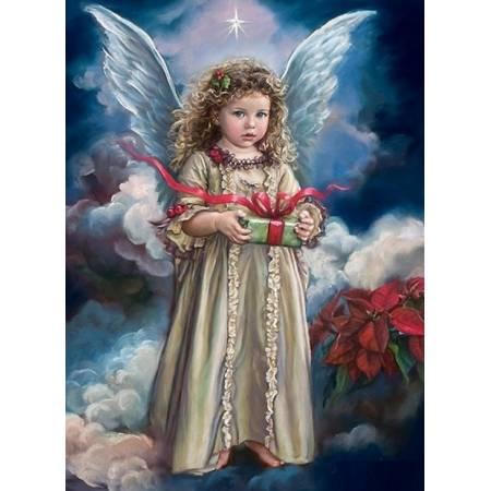 Ангелочек с подарком