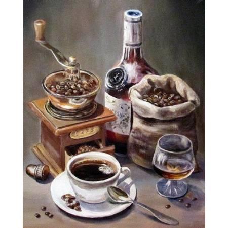 Картина по номерам Аромат молотого кофе (TN895), DIY