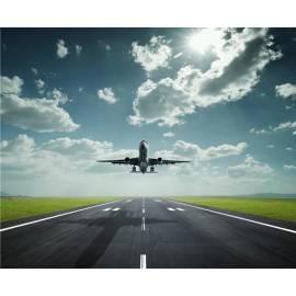 Алмазная вышивка - Самолет в небе