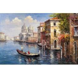 Алмазная вышивка - Канал Венеции
