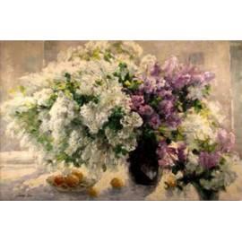 цветы в пастельных тонах