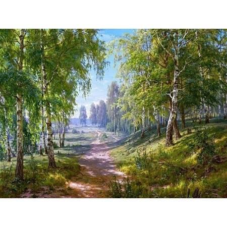 Картина по номерам Алмазная вышивка -  Яркие краски природы (FS238), DIY
