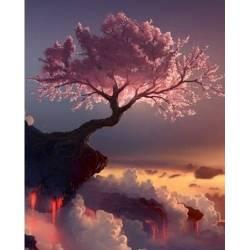 Сакура на закате