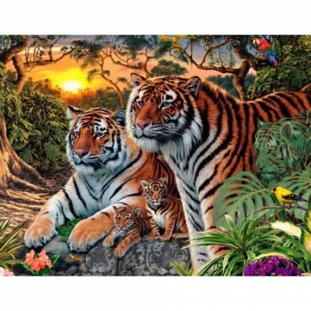 Картина по номерам Хозяева джунглей TN130, DIY