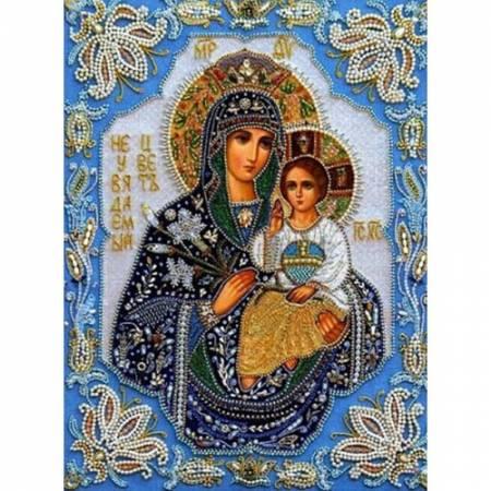 Святая Мария с сыном