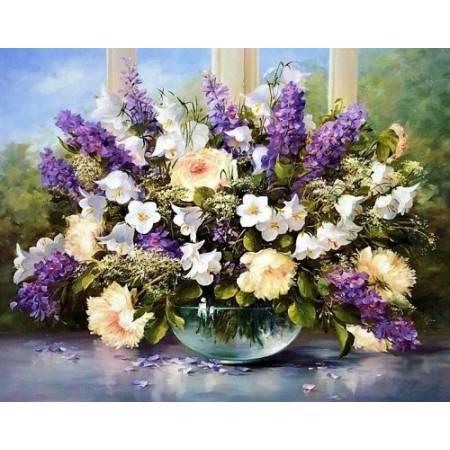 Картина по номерам Цветы для любимой (TN772), DIY