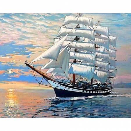 Корабль на волнах