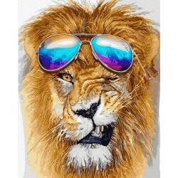 Модный лев