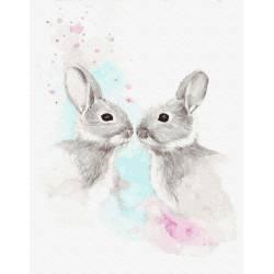 Влюбленные зайчики