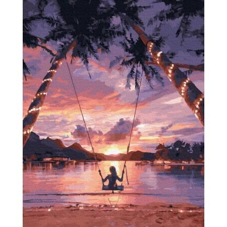 Картина по номерам Райское наслаждение  GX29710, Rainbow Art