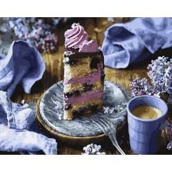 Сиреневый десерт