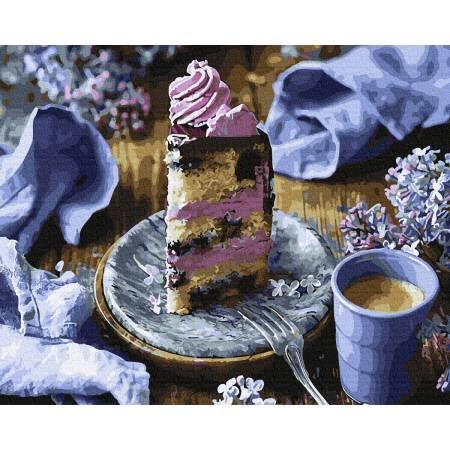 Картина по номерам Сиреневый десерт  GX34318, Rainbow Art