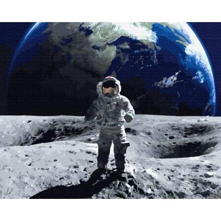 Картина по номерам На Луне GX35003, Rainbow Art